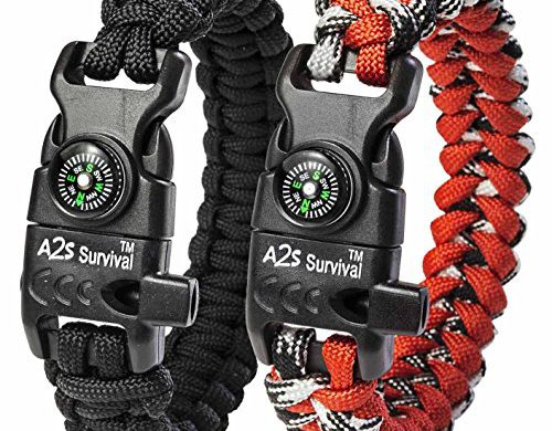 Sale on A2S Paracord Bracelet K2-Peak Series – Survival Gear